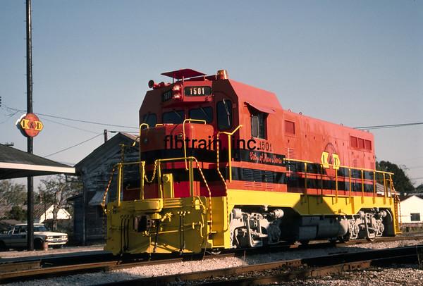 LD1988110069 - Louisiana & Delta, New Iberia, LA, 11-1988