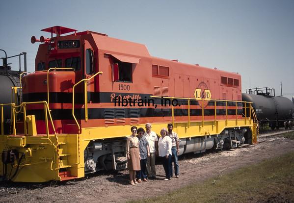 LD1989050018 - Louisiana & Delta, Patoutville, LA, 5-1989
