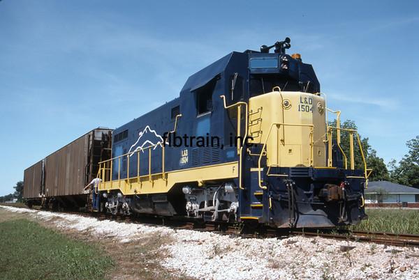 LD1990050241 - Louisiana & Delta, New Iberia, LA, 5-1990