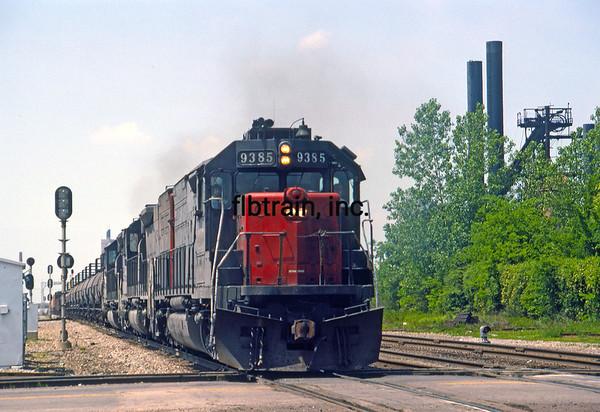 LD1989040050 - Louisiana & Delta/SP/NS, Birmingham, AL, 4/1989