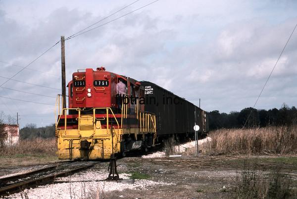 LD1989100018 - Louisiana & Delta, North Bend, LA, 1-1989