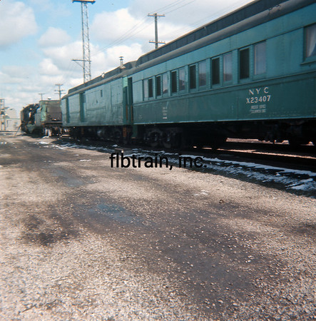 NYC1966030017 - New York Central, Collinwood, OH, 3-1966