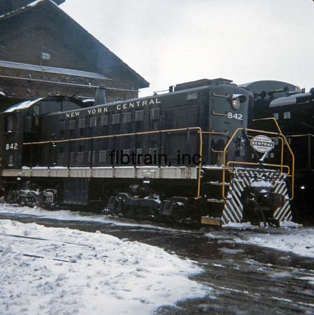 NYC1966020038 - New York Central, Collinwood, OH. 2-1966