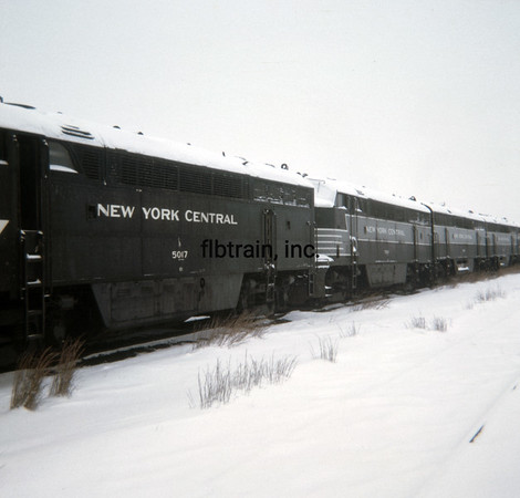 NYC1966020001 - New York Central, Collinwood, OH, 2-1966