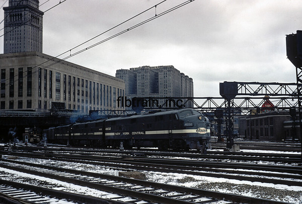 NYC1966030429 - New York Central, Collinwood, OH, 3/1966