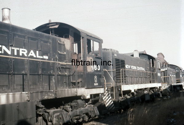 NYC1966020003 - New York Central, Collinwood, OH, 2-1966