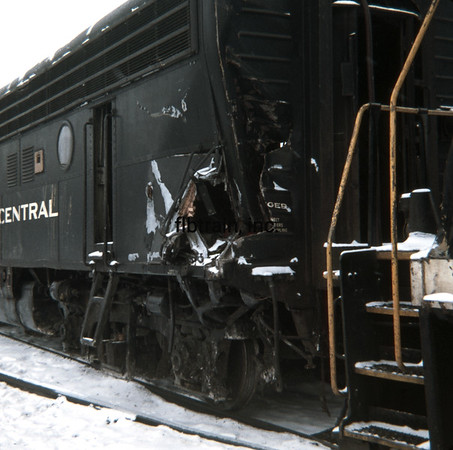 NYC1966020049 - New York Central, Collinwood Shops, OH, 2-1966