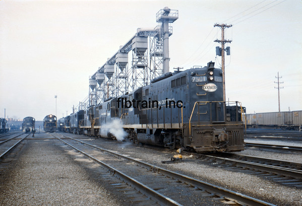 NYC1966031131 - New York Central, Collinwood, OH, 3-1966