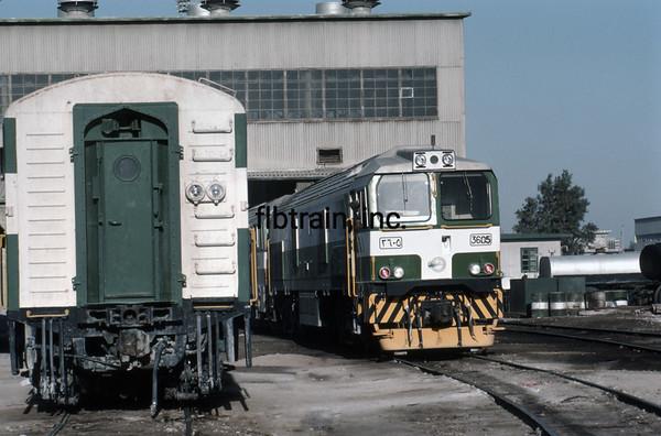 SRO1984020019 - Saudi Railways Organization, Dammam, Saudi Arabia, 2-1984