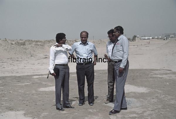 SRO1984040005 - Saudi Railways Organization, Dammam, Saudi Arabia, 4-1984