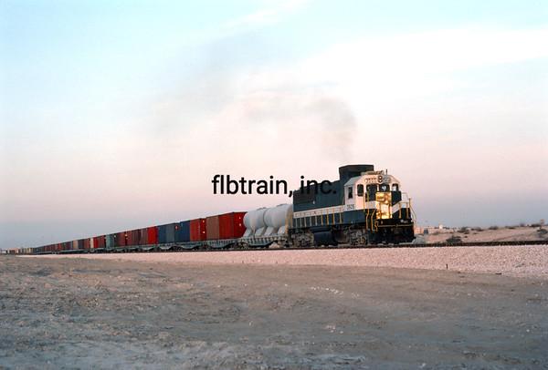SRO1983120011 - Saudi Railways Organization, Dammam, Saudi Arabia, 12-1983