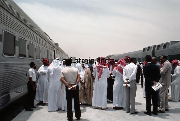 SRO1985050020 - Saudi Railways Organization, Dammam, Saudi Arabia, 5-1985