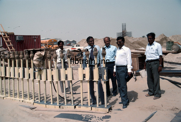 SRO1984040019 - Saudi Railways Organization, Dammam, Saudi Arabia, 4-1984