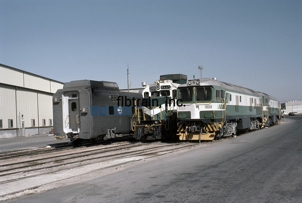 SRO1985040017 - Saudi Railways Organization, Dammam, Saudi Arabia, 4-1985