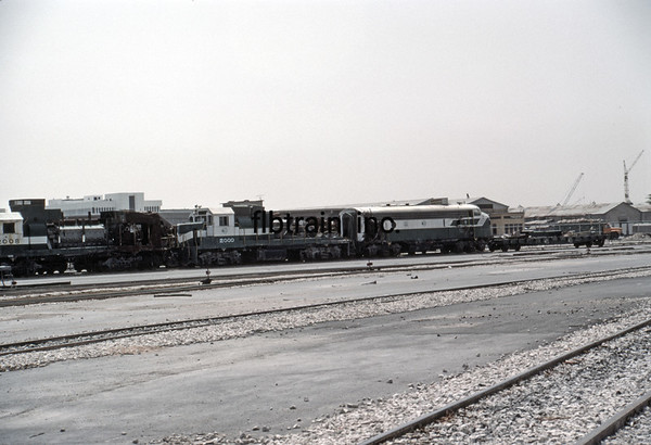 SRO1984040028 - Saudi Railways Organization, Dammam, Saudi Arabia, 4-1984