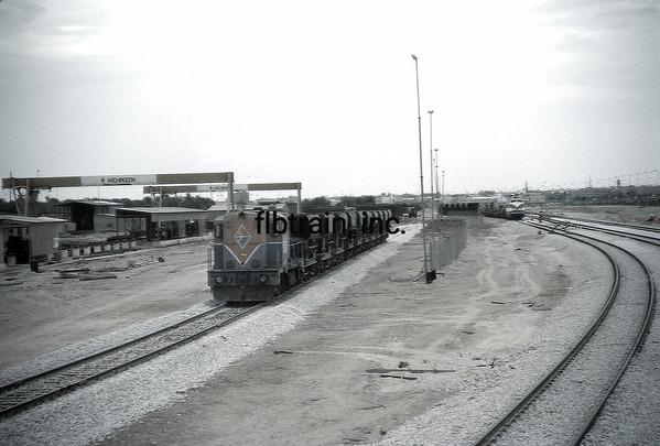 SRO1985040014 - Saudi Railways Organization, Hofuf, Saudi Arabia, 4-1985