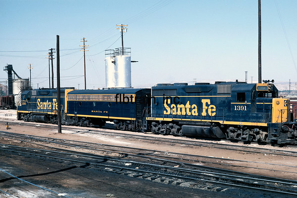 SF1968090038 - Santa Fe, Barstow Shops, CA, 9/1968