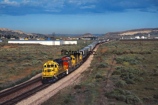 SF1992070024 - ATSF, Gallup, NM, 7/1992