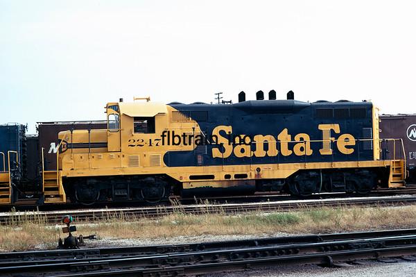 SF1973093302 - Santa Fe, Corwith Yard, IL, 9/1973