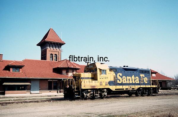 SF1989030028 - Santa Fe, Paris, TX, 3/1989