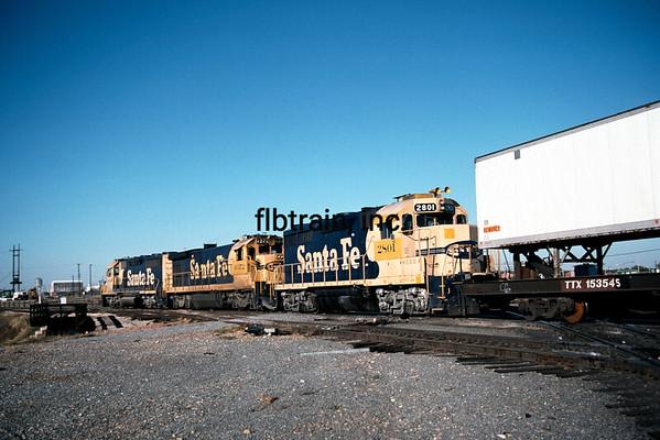 SF1989110132 - Santa Fe, Fort Worth, TX, 11/1989