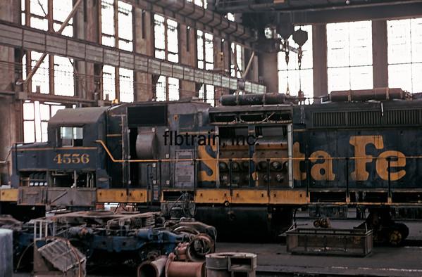 SD1973099001 - Santa Fe, San Bernardino Shops, CA, 9/1973