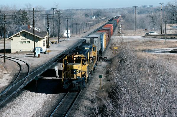 SF1981010010 - ATSF, Melvern, KS, 1/1981