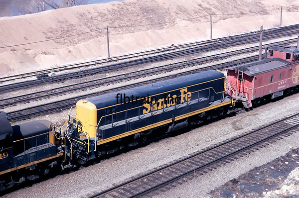 SF1971040022 - Santa Fe, Argentine Yard, KS, 4/1971