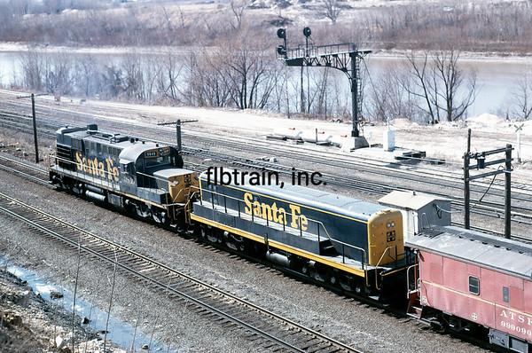 SF1971040021 - Santa Fe, Argentine Yard, KS, 4/1971