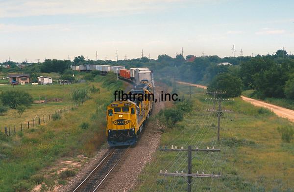 SF1990080101 - Santa Fe, Santa Anna, TX, 8/1990