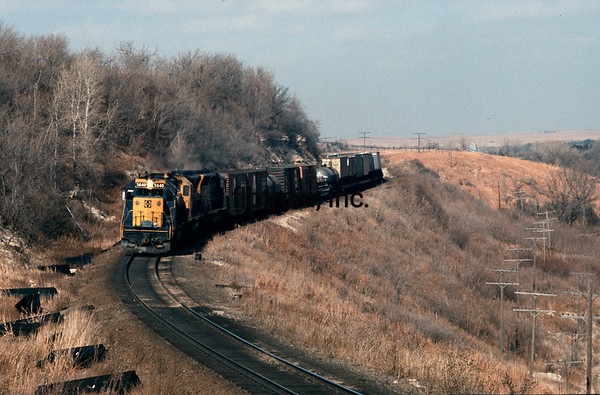 SF1976100007 - Santa Fe, Matfield Green, KS, 10/1976