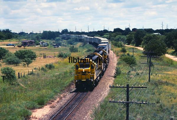 SF1991070032 - Santa Fe, Santa Anna, TX, 7/1991