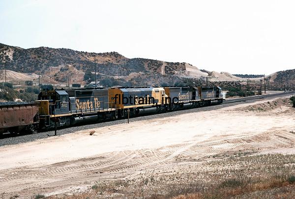 SF1973060027 - Santa Fe, Cajon Pass, CA, 6/1973