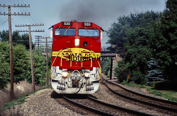 SF1992060127 - Santa Fe, Galesburg, IL, 6/1992
