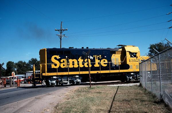 SF1989100105 - ATSF, Hutchinson, KS, 10/1989