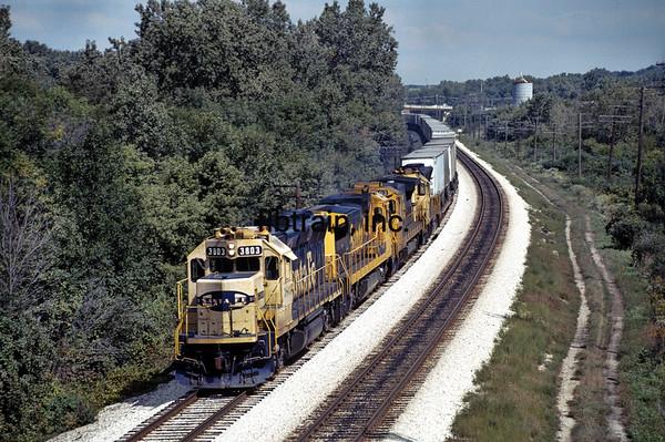 SF1989090021 - Santa Fe, Lockport, IL, 9/1989