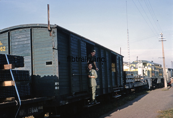VNRS1967010031 - Viet Nam Railway, Saigon, Viet Nam, 1-1967
