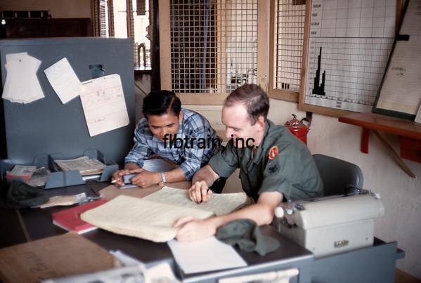 VNRS1967049602 - Viet Nam Railways, Saigon, RVN, 4-1967