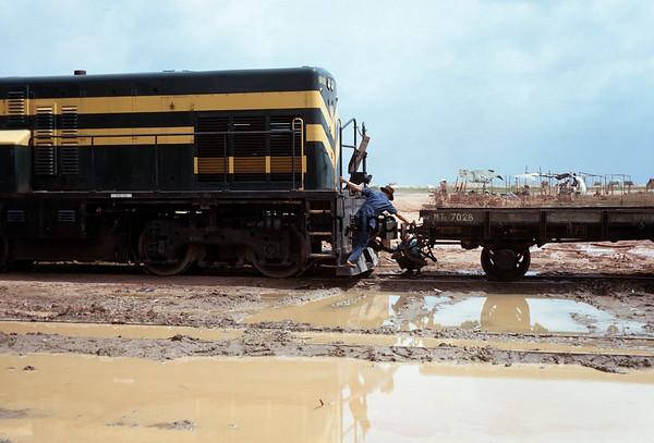 VNRS1967071001 - Viet Nam Railway, Long Binh, RVN, 7-1967