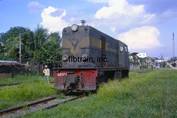 VNRS1967080501 - Viet Nam Railway, Saigon, RVN, 8-1967