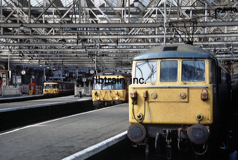 BR1986080005 - British Railways, Glasgow, Scotland, 8-1986