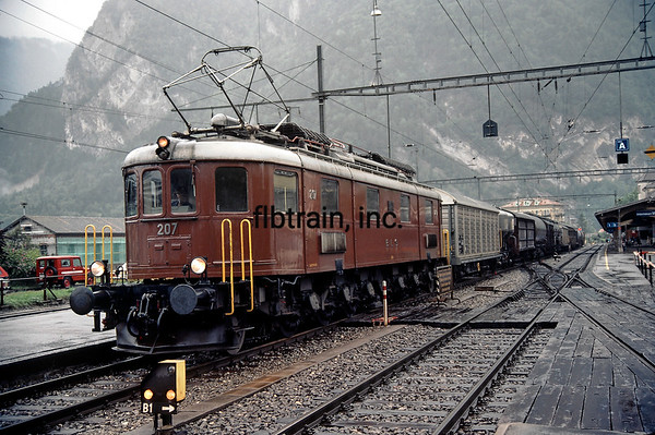BLS1984080036 - Bern Lotschberg Simplon Railway, Interlaken West, 8-1984