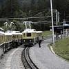 BOB1984080052 - Bernese Oberland Bahn, Grindelwald, Switzerland, 8-1984