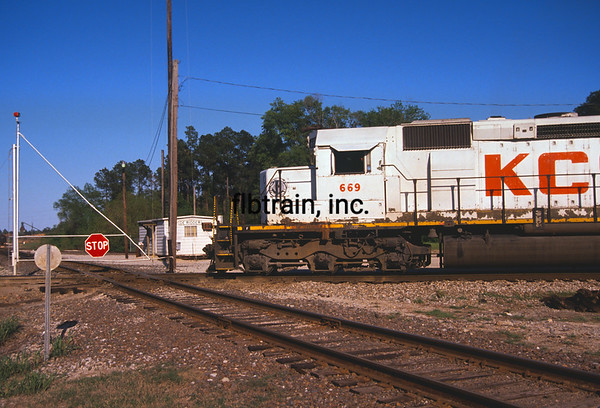 KCS1991030028 - Kansas City Southern, DeRidder, LA, 3/1991