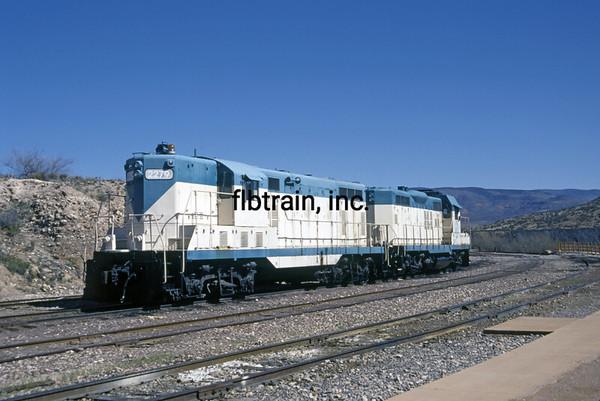 VCR1999040001 - Verde Canyon RR, Clarkdale, AZ, 4/1999