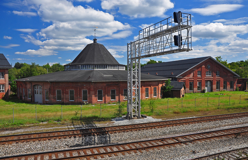 B & O Roundhouse and Shops - Martinsburg, WV - 2011