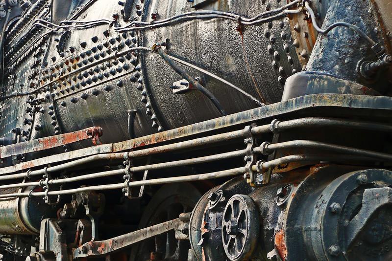 Locomotive detail - Strasburg, PA - 2009