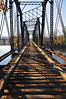 Abandoned railroad bridge over Lehigh River - Allentown, PA - 2011