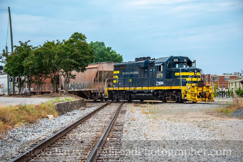 Atlantic & Western; Sanford NC; 5/17/21