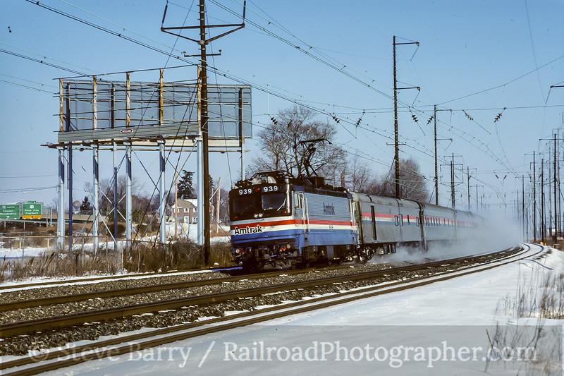 Amtrak; Claymont DE; 1/1988